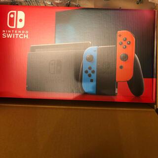 Nintendo Switch - ニンテンドースイッチ ネオンブルー/ネオンレッド 新品未開封