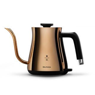 Starbucks Coffee - バルミューダ スターバックス 限定 電気ケトル バルミューダ