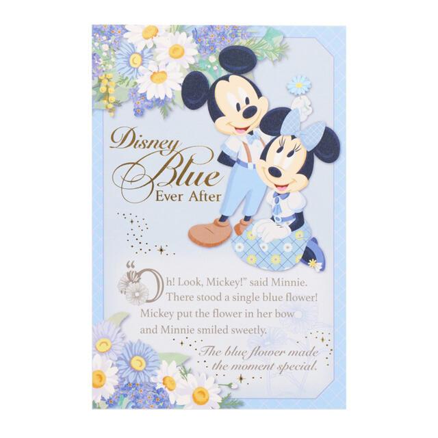 Disney(ディズニー)の【新品】ディズニー ブルーエバーアフター ポストカード エンタメ/ホビーのおもちゃ/ぬいぐるみ(キャラクターグッズ)の商品写真