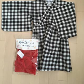 シマムラ(しまむら)の未使用 開封済 浴衣110(甚平/浴衣)
