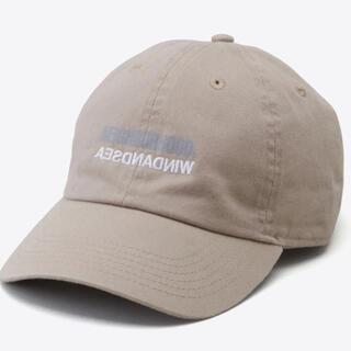 ネイバーフッド(NEIGHBORHOOD)のNEIGHBORHOOD WIND AND SEA CAP BEIGE(キャップ)
