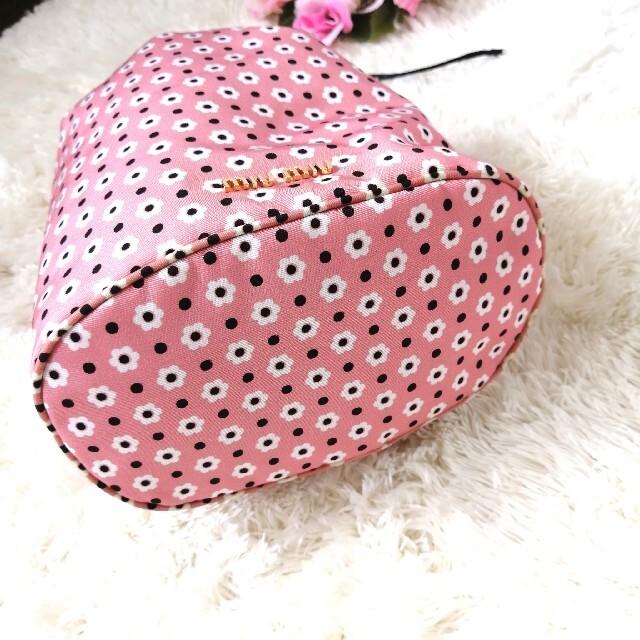 miumiu(ミュウミュウ)の正規品♡ 極美品♡ ミュウミュウ 巾着バッグ 巾着ポーチ 花柄 429 レディースのバッグ(ハンドバッグ)の商品写真