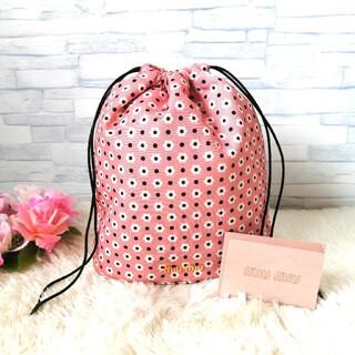 miumiu - 正規品♡ 極美品♡ ミュウミュウ 巾着バッグ 巾着ポーチ 花柄 429
