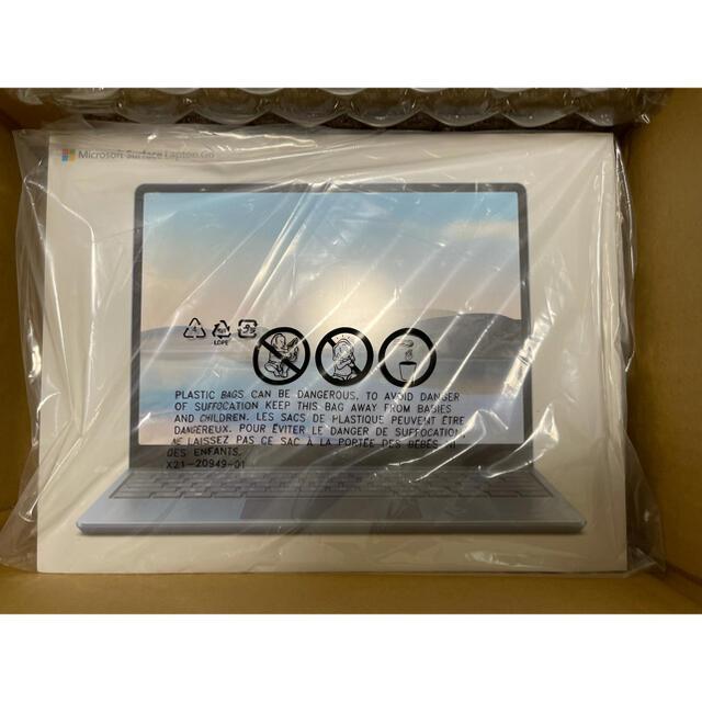 Microsoft(マイクロソフト)のSurface Laptop Go アイスブルー THJ-00034 スマホ/家電/カメラのPC/タブレット(ノートPC)の商品写真