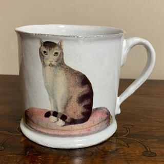 アッシュペーフランス(H.P.FRANCE)のastier de villatte  アスティエ 猫 ネコ ジョンデリアン(食器)