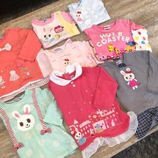 ミキハウス(mikihouse)のミキハウス MIKIHOUSE 8点セット 80㎝ 半袖 ロンT トレーナー(Tシャツ)