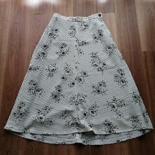 IENA - IENA ストライプフラワースカート