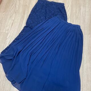 ユニクロ(UNIQLO)のUNIQLO スカート 2枚セット(ロングスカート)