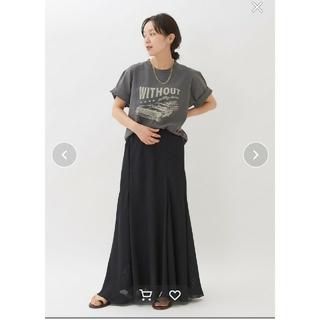 プラージュ(Plage)の完売色 美品Plage VINTAGE ティーシャツ グレー  (Tシャツ(半袖/袖なし))