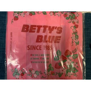 ベティーズブルー(BETTY'S BLUE)のべティーズブルー エコバッグ イチゴ(エコバッグ)