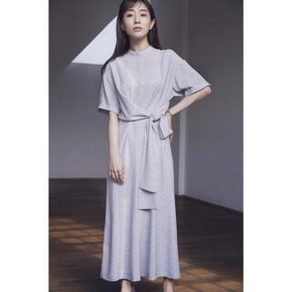 Ameri VINTAGE - CLANE×田中みな実 CIRCLE FLOWER ONE PIECE ブルー