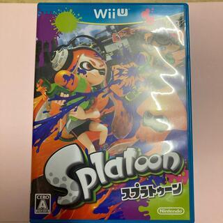 ウィーユー(Wii U)の★ 美品  WiiU スプラトゥーン ★(家庭用ゲームソフト)