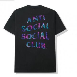 シュプリーム(Supreme)のANTI SOCIAL / KISS THE WALL BLACK TEE M(Tシャツ/カットソー(半袖/袖なし))