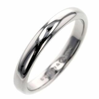 Tiffany & Co. - ティファニー リング 指輪 クラシックバンド 幅約3mm プラチナPT950