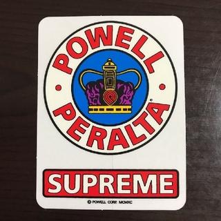 POWELL - (縦9cm横6.8cm) powell パウエルステッカー