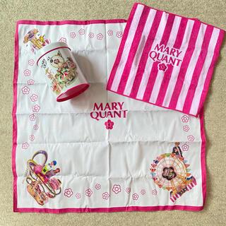 マリークワント(MARY QUANT)のMARY QUANT 缶/タオル/ハンカチ セット(ハンカチ)