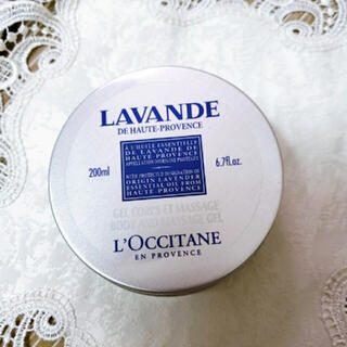 ロクシタン(L'OCCITANE)のロクシタン ラベンダーマッサージジェル 200ml(ボディクリーム)