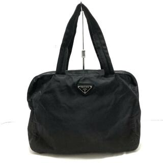 PRADA - PRADA(プラダ) ハンドバッグ - 黒 ナイロン