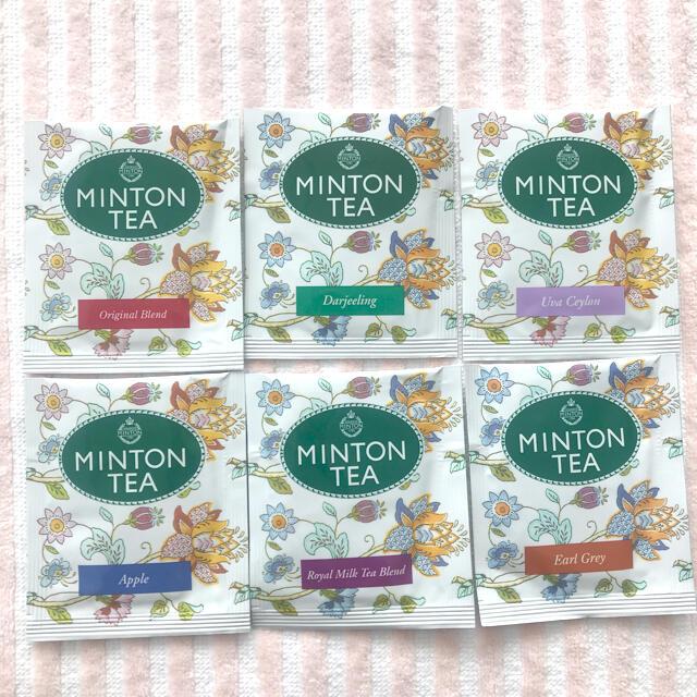 MINTON(ミントン)のミントンティー 18パック 食品/飲料/酒の飲料(茶)の商品写真
