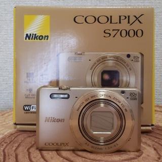 Nikon - 【美品】Nikon COOLPIX S7000【光学20倍ズーム】