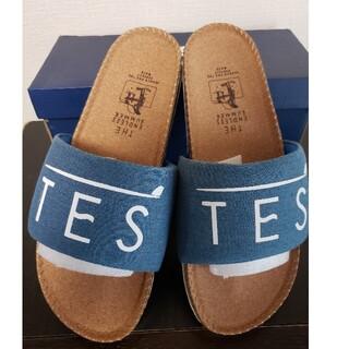 ロンハーマン(Ron Herman)のTES denim sandals 新品未使用(サンダル)