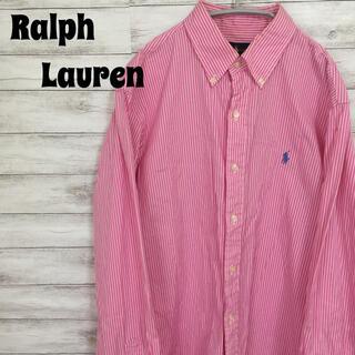 ラルフローレン(Ralph Lauren)のラルフローレン ストライプ シャツ ピンク(シャツ)