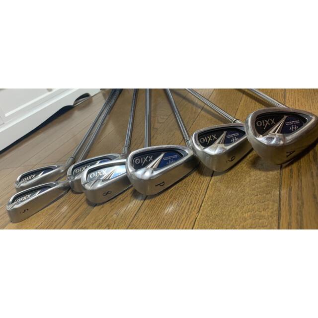 XXIO アイアン 8(5〜9、P、A)シャフトN.S Pro 900 (S)  チケットのスポーツ(ゴルフ)の商品写真
