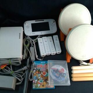 ウィーユー(Wii U)の【動作確認済】WiiU 本体 4人で すぐ遊べる セット(家庭用ゲーム機本体)