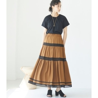 ANAYI - アナイ 今季 リネンライクティアードスカート