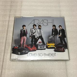 アラシ(嵐)の嵐 Love so sweet  初回限定盤(ポップス/ロック(邦楽))