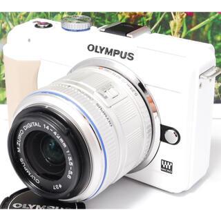 オリンパス(OLYMPUS)の❤スマホ転送OK ❤高画質・高機能❤軽量コンパクト ❤️オリンパス E-PL1s(デジタル一眼)