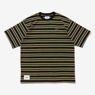 W)taps - 黒 M 02 WTAPS JAM 01 SS COTTON ボーダー Tシャツ