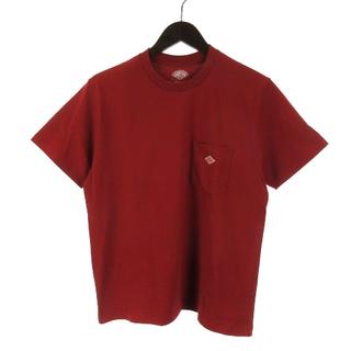ダントン(DANTON)のダントン 17AW JD-9041 ポケット付 Tシャツ 半袖 36 赤 レッド(Tシャツ/カットソー(半袖/袖なし))