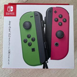 Nintendo Switch - 任天堂スイッチ joy-con  ネオングリーン ネオンピンク