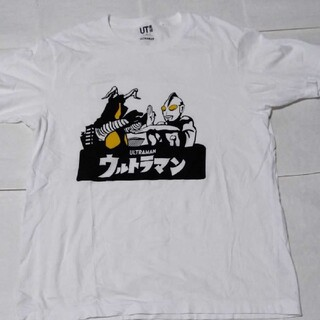 UNIQLO - ユニクロ白ウルトラマンTシャツ
