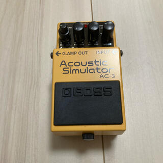 ボス(BOSS)のBOSS Acoustic Simulator AC-3(エフェクター)