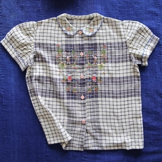 Caramel baby&child  - 新品 6Y bonjour diary 刺繍ブラウス