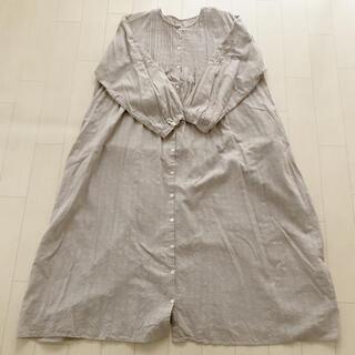 サマンサモスモス(SM2)のsm2*袖刺繍ワンピース(ひざ丈ワンピース)