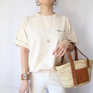 agnes b. - 新品★アニエスベー半袖ロゴTシャツ Lサイズ