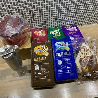 タリーズコーヒー(TULLY'S COFFEE)のドトール★コーヒー豆set(コーヒー)