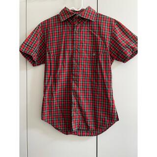 ヴィヴィアンウエストウッド(Vivienne Westwood)のVIVIEN WESTWOOD MAN半袖シャツ メンズ チェックシャツ(シャツ)