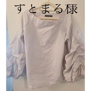 フリルトップス(シャツ/ブラウス(長袖/七分))