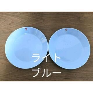 イッタラ(iittala)のイッタラ ティーマ ライトブルー プレート17㎝ 2枚 新品    (食器)