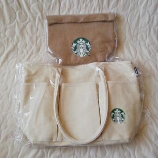 Starbucks Coffee - STARBUCKS スタバ福袋2021 トートバッグ&ジュートランチバッグセット