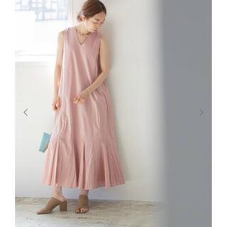 ノーブル(Noble)のマリハ 夏の月影のドレス ピンク 36(ロングワンピース/マキシワンピース)