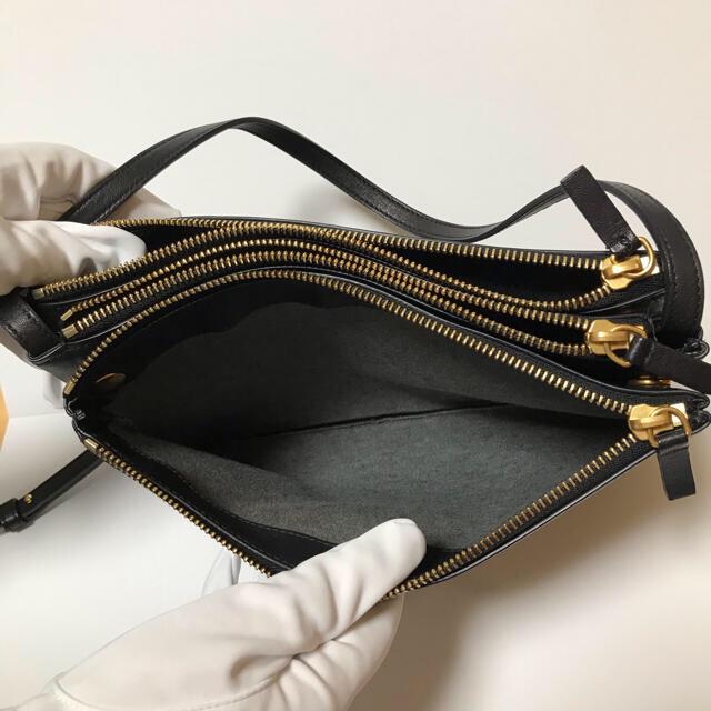 celine(セリーヌ)のセリーヌ トリオ ラージ レザー ショルダーバッグ レディースのバッグ(ショルダーバッグ)の商品写真