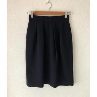 シップスフォーウィメン(SHIPS for women)のSHIPS for women DOUBLE CLOTH TUCK SK(ひざ丈スカート)