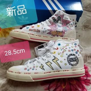 アディダス(adidas)の新品 adidas Disney ミッキー スニーカー ハイカット ディズニー(スニーカー)