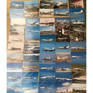 エーエヌエー(ゼンニッポンクウユ)(ANA(全日本空輸))の【未使用品】ANA 飛行機 ポストカード(航空機)