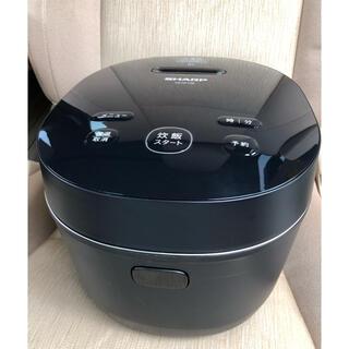 SHARP - 【シャープ 】IHジャー 炊飯器 5.5合 KS-HF10BB  ブラック